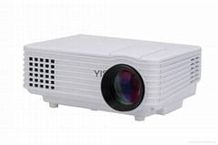 Portable Projector for Home Cinema with