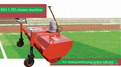 Brushing machine for artificial grass