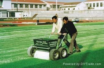 Sand infill machine for artificial grass 1