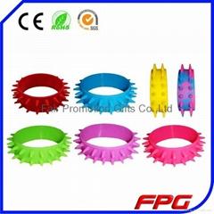 Silicone Spike Bracelet