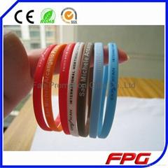 Thin Silicone Bracelet