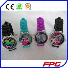 3D Watch Dial Silicone Watch