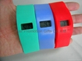Wide Silicone Band Watch 2