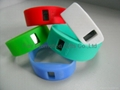 Wide Silicone Band Watch 3