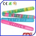 Fluffing Saying Silicone Bracelets