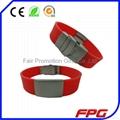QR Code Metal Bracelet
