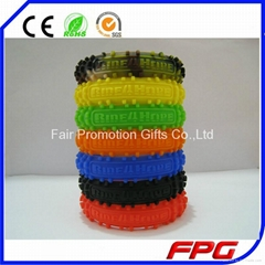 Silicone Bicycle Tyre Bracelet
