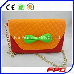 Silicone Waterproof cheap silicone shoulder bag