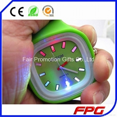 LED Light Jelly Watch