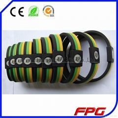 Silicone Power Energy Bracelets