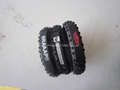 Printed logo Silicone Motorcycle Tire Bracelet  9