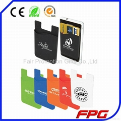 2015 Mobile Phone Silicone Smart Wallet