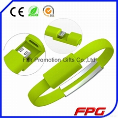 USB Cable Mobile IPhone Data Cable Charging Line Wristband