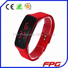 Ultra Thin Sports Silicone LED Digital Watch
