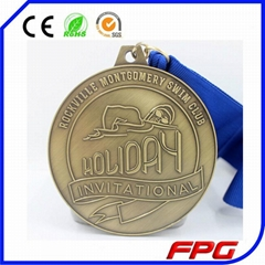 Custom Medal with Ribbon
