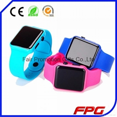 2015 Apple Silicone Led Watch