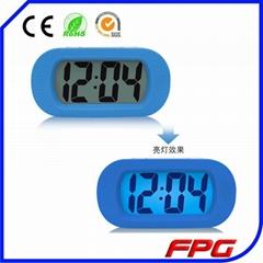 Digital Silicone LED Screen Alarm Clock