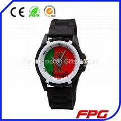 Football Sports Silicone Watch