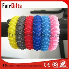 Customized Silicone Tyre Bracelet Without logo