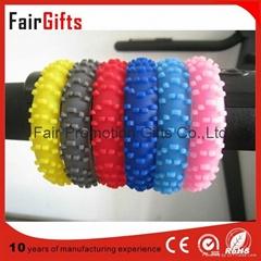 Customized Silicone Tyre Bracelet Without logo
