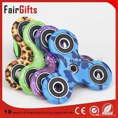 Finger Fidget Spinner Toys Hand Spinner with Camo Print