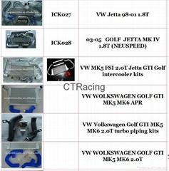 subaru wrx Audi A4 A4B5 A4B6 golf mk5 6  jetta Intercooler kit