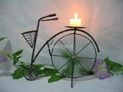 自行车烛台