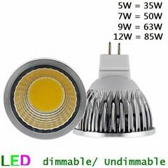 9W 12W COB LED Super bright MR16 spot light -KG28COB-MR16