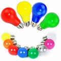 Colored LED bulb light colorful E27 E14