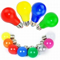 Colored LED bulb light colorful E27 E14 for holiday christmas light decoration