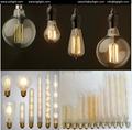 LED Filament Bulb E27 E14 dimmable 8W