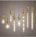Dimmable light vintage bulbs t30 e27 old