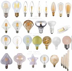 2016 Newest Design LED Filament Bulb , led G125 6W 8W Dimmable LED light bulb