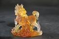 古法琉琉璃十二生肖工藝品動物擺件 5