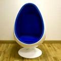 Fiberglass Lounge Oval Relaxing Egg Pod Space Eye Ball chair