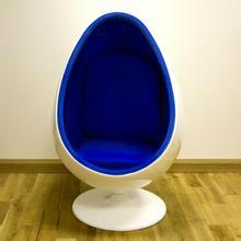 Fiberglass Lounge Oval Relaxing Egg Pod Space Eye Ball chair