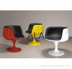 Fiberglass Cup Chair/adult swing chair coffe cup bar chair table