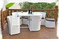 Outdoor garden patio synthetic rattan wicker furniture sets