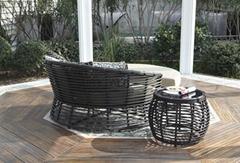PE Rattan wicker Outdoor garden sets patio furniture