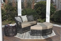 PE Rattan wicker Outdoor garden sets patio furniture