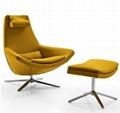 Scandinavian Style Metropolitan Leisure Chair Bedroom Lounge Chair 1