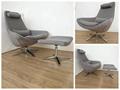 Scandinavian Style Metropolitan Leisure Chair Bedroom Lounge Chair 3