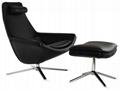 Scandinavian Style Metropolitan Leisure Chair Bedroom Lounge Chair 4