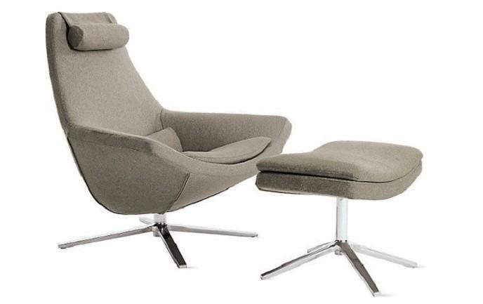 Scandinavian Style Metropolitan Leisure Chair Bedroom Lounge Chair 5