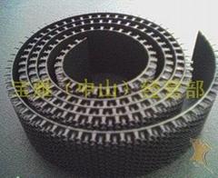 魔术贴 塑料勾粘扣带 工业塑料勾 透明塑胶勾