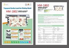 HM-1802 Thermal transfer Textile printer