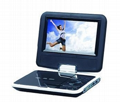 7'' Portable DVD player