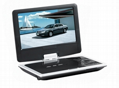 9'' Portable DVD player
