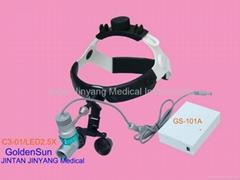 Portable LED headlight dental surgical