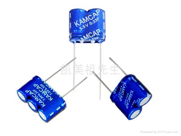 KAM 系列电力设备仪器表计用20F全系法拉电容超级电容 4